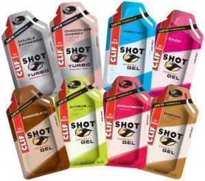 Les Clif Shot Gel de Clif Bar