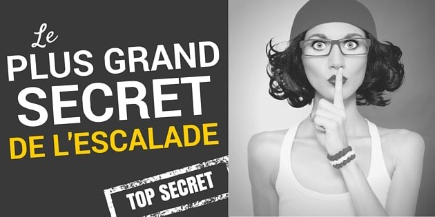 le secret pour progresser en escalade