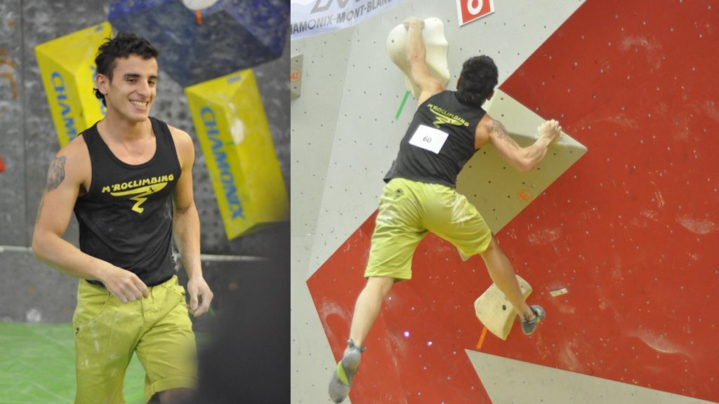 competition escalade bloc