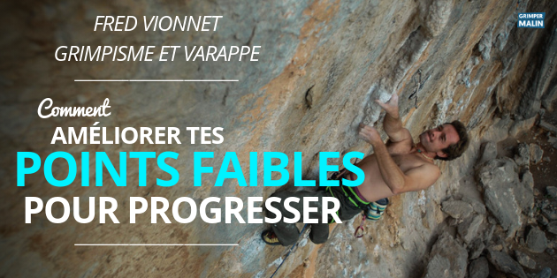 interview fred vionnet points faibles escalade